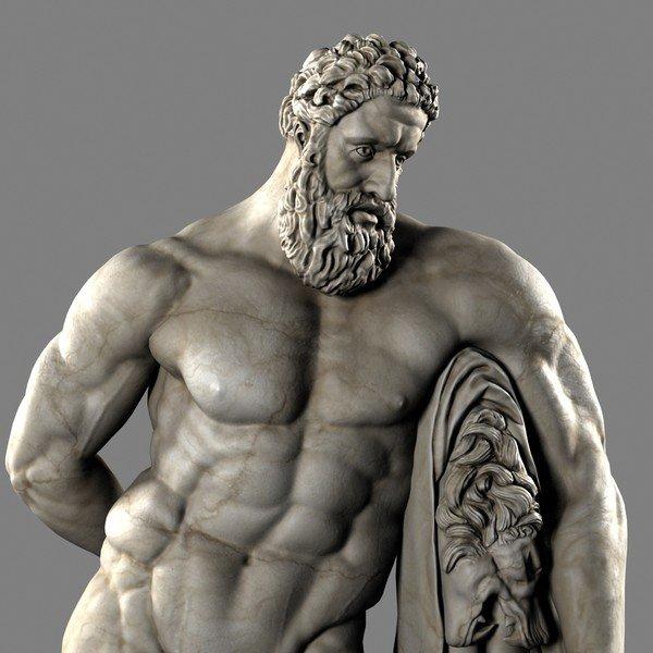 Hercule-sculptura-greaca-din-per-elenistica