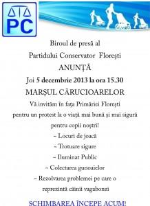 5 decembrie protest