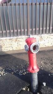 hidrant rupt