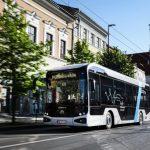 UPCity, Primul Autobuz Electric Românesc, Pe Străzile Clujului, De Ziua Europei